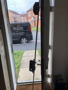 new UPVC lock installed to a home in Harrogate